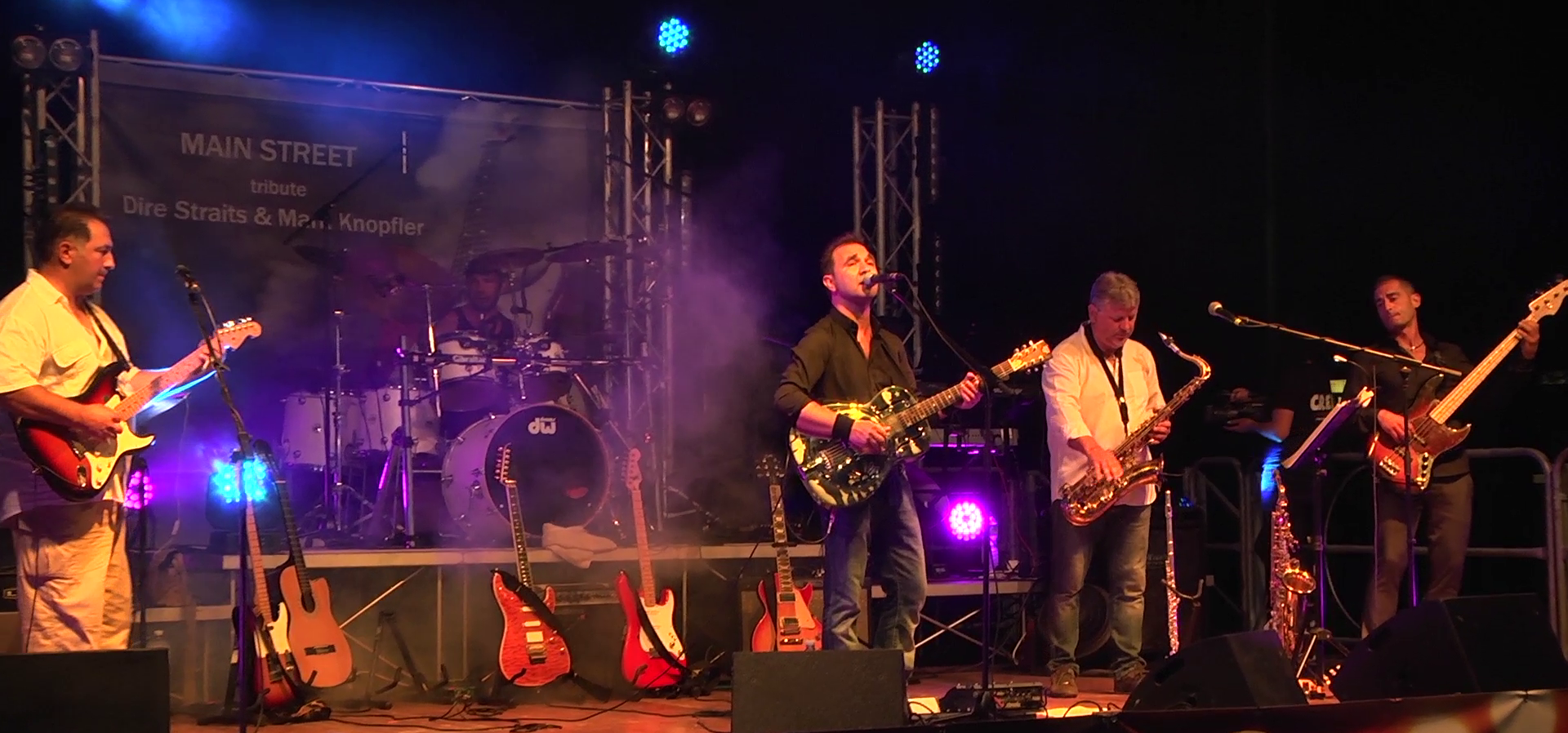 Main Street-Dire Straits tribute band