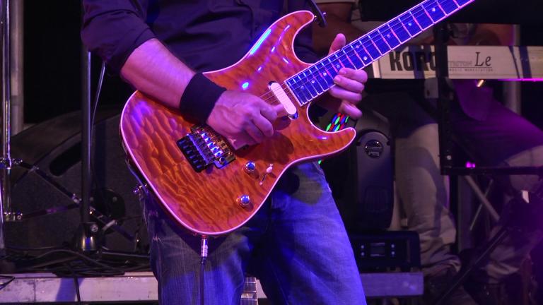 Piero Licari - Lead guitar & Vocal - Main Street Dire Straits