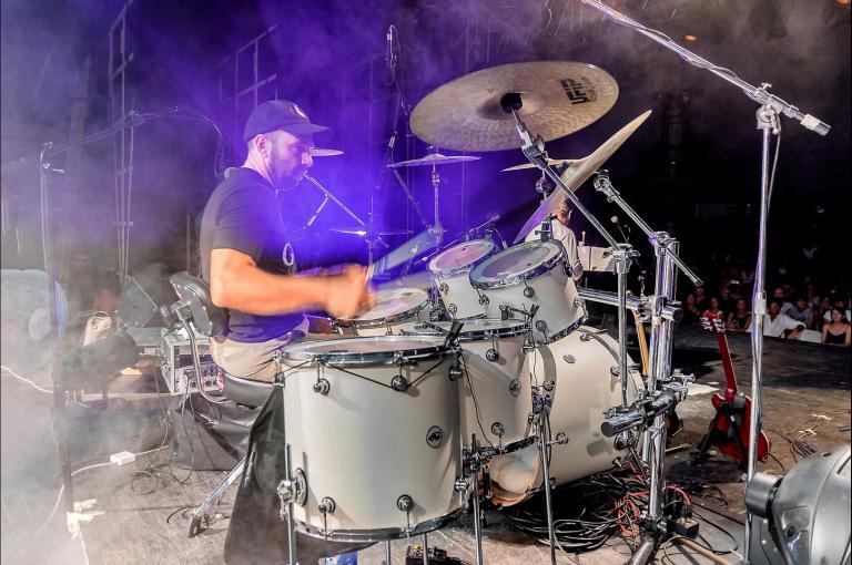 Dario Licari - Drums - Main Street Dire Straits